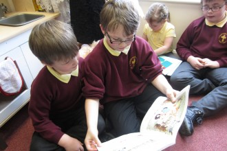 Book Week: Reading Buddies