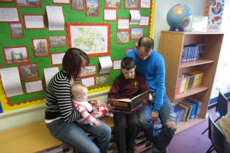 Book Week: Reading with Parents