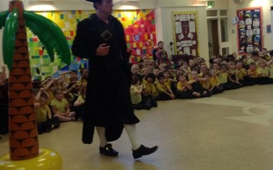 When the pantomime came to St Aidan's